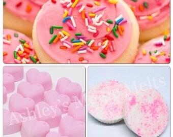 3 Sugar cookies wax melts, cookie wax melts, scented wax melts, bakery wax melts, sweet wax melts, food wax melts, strong wax melts, cheap