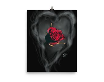 Spirit of the Rose Poster Print