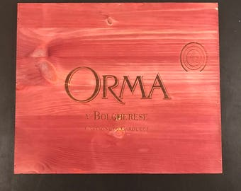 ORMA Wine Crate Panel **FREE SHIPPING**