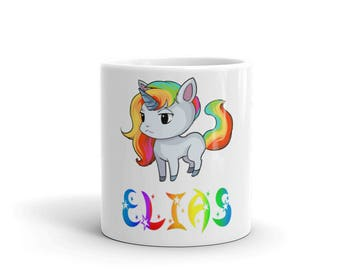 Elias Unicorn Mug