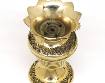 Traditional Brass Indian Incense Holder