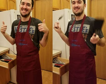 Personalized Aprons (Made to Order)