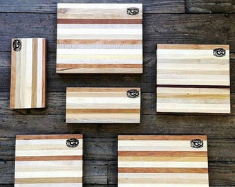 "Gourmet Cutting Boards (the famous reclaimed wood, Savannah Foodie ""Pirate Planks"")"