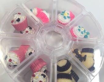 Cupcake Charm Pallete (18 pieces)