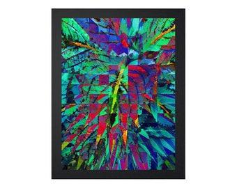 Georganic: Jungle (Printable Art - Geometric - Instant Digital Download)