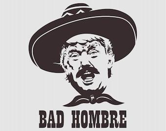 One Bad Hombre T-shirt, Women's