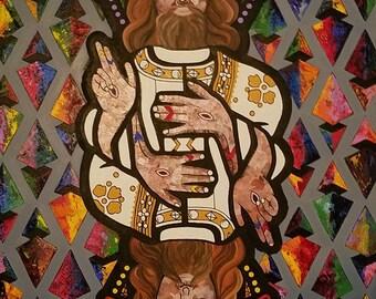 Oil Painting (Jesus piece)