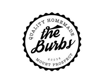 The Burbs - The Midwest - Chicago Digital Art Design - Instant Download - Custom Art