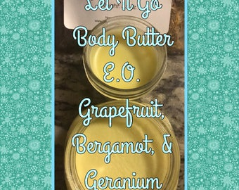 Let It Go All Organic Body Butter