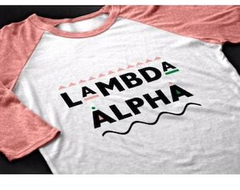 Lambda Alpha (Martin inspired)