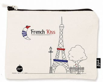 Pouch Sojoli M - french Kiss