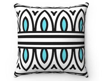 Custom Boho Pillow || Teal
