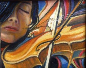 a violin' s voice