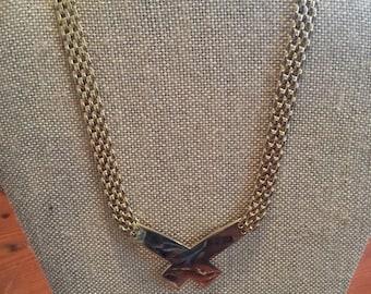 Vintage Korean Gold Necklace