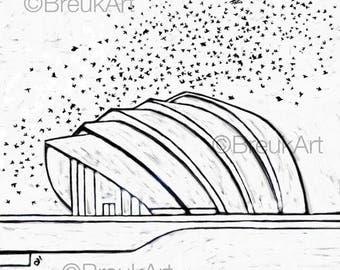Clydeside, Clyde Auditorium. Mono.