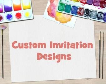 Custom Invitations