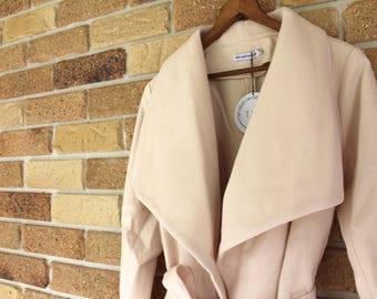Off White/Cream Trench Coat