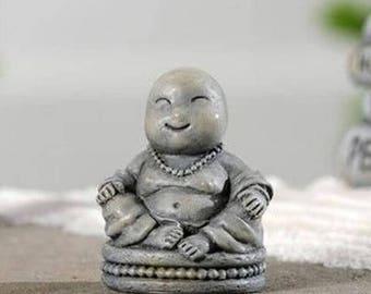 Fairy Garden Zen Buddha figurine