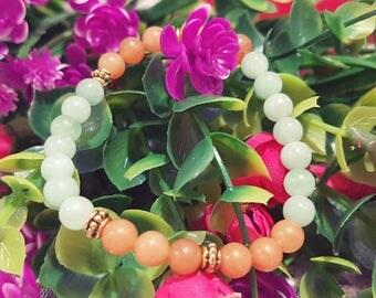 Green Aventurine,Red Aventurine,Gemstone bracelet,Energy stone