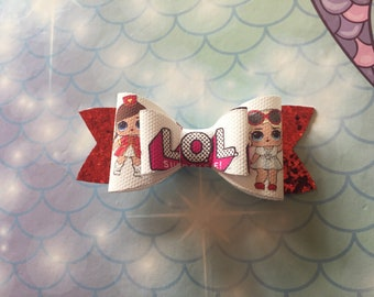 Lol surprise doll inspired hair bow