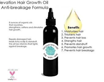Elevated Hair Growth oil + Anti-breakage Formula