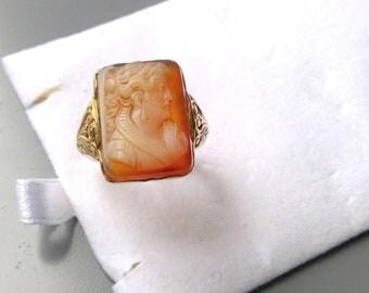 19th century cameo ring