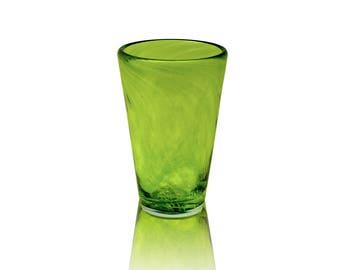 Glass Drinkware- Lime