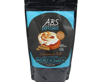 ABS Protein Pancakes- Cinnamon Roll