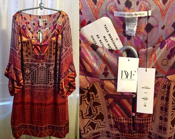 Diane Von Furstenberg Tabalah Dress