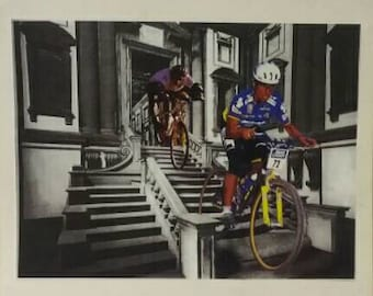 Mountain Bikes in the Laurentian Library