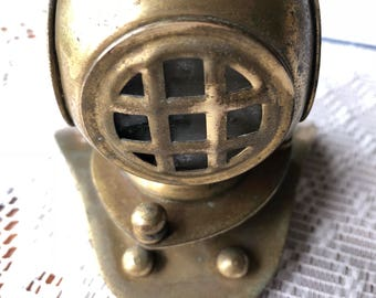 Miniature Diving Helmet.