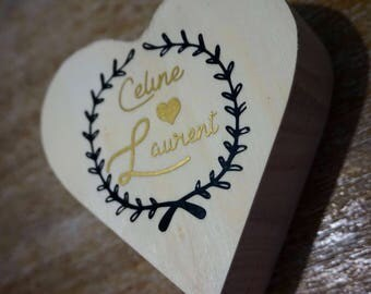 ring bearer peronnalisees box