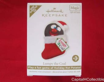 Hallmark Keepsake Lumpy the Coal Ornament