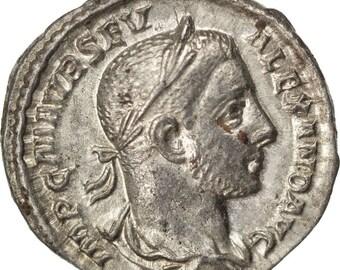 septimius severus denarius au(50-53) silver cohen #23 3.00