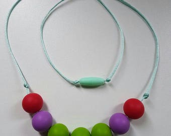 Part of Your World - Women's statement/infant teething necklace