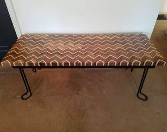 Chevron bench/table