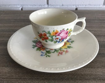 Taylor Smith and Taylor Needlepoint China