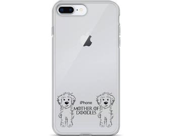 Mother of Doodles Clear iPhone Case- GoldenDoodle LabraDoodle