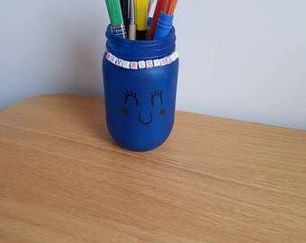 Personalised, Hand Painted Glass Jars, Storage Jars