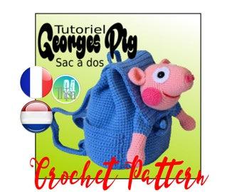 Tutorial backpack George from Peppa Pig