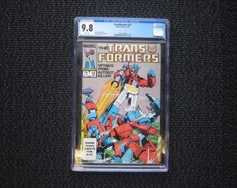 Transformers #12 - 1986 CGC 9.8 - Optimus Prime
