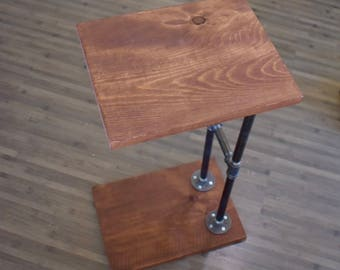 Industrial Pipe C Table, Sofa Table
