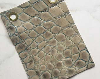 Single Specialty Embossed Leather