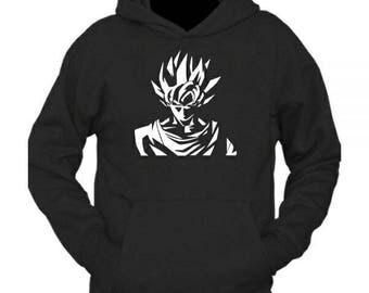 Dragon Ball inspired Goku Super Saiyan Hoodie