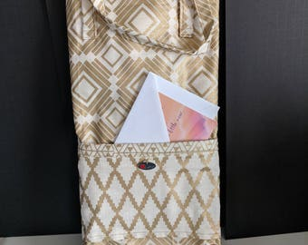 Hand Made Quilted Wine Bag