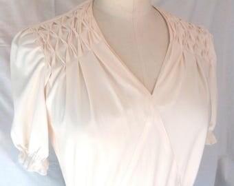 80's short sleeve dress