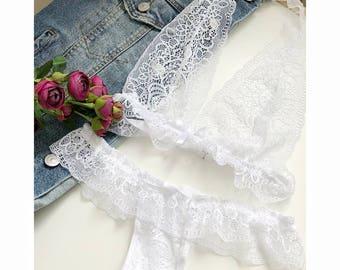 Wedding lingerie set, wedding bra, sexy lingerie, bridal lingerie, white lingerie, wedding underwear, honeymoon lingerie