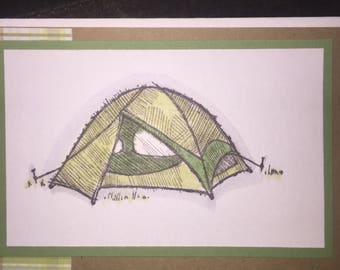 Camping Treasures Card