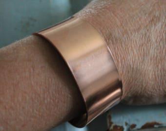 """TEN - 1/2"""" by 6"""" copper cuff bracelet blanks, copper cuff blanks, Bracelet Blanks, Cuff Blanks"""