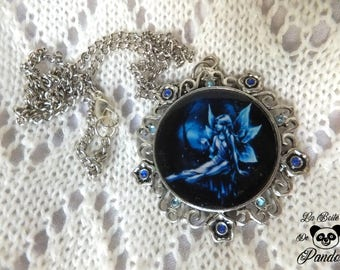 Blue Fairy necklace